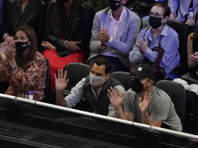 Roger Federer a Andy
