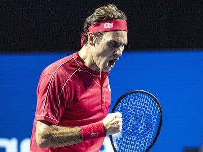 Na snímke švajčiarsky tenista