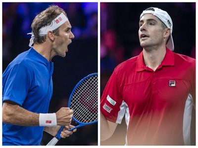 Roger Federer vs. John