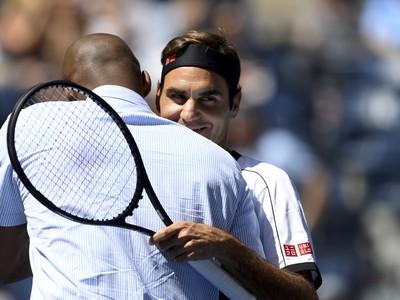 Roger Federer a Kobe