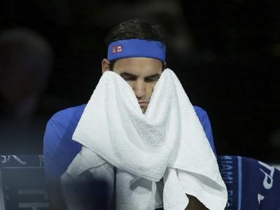 Roger Federer si v