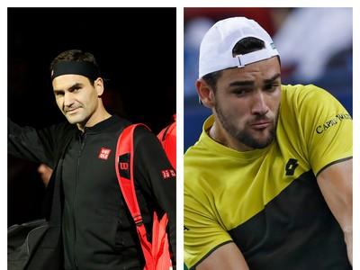 Roger Federer vs. Matteo