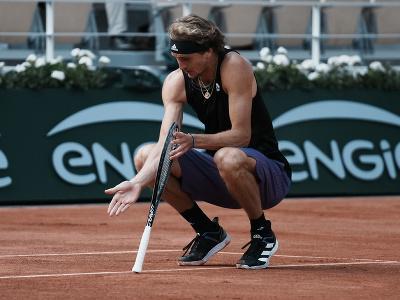Nemecký tenista Alexander Zverev