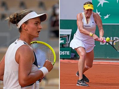 Barbora Krejčíková a Anastasia