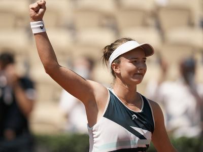 Česká tenistka Barbora Krejčíková