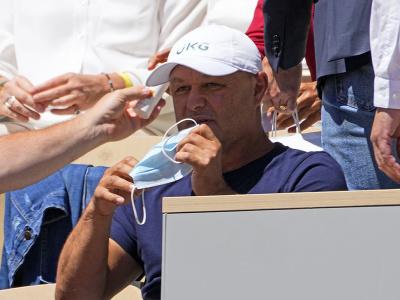 Slovenský tréner svetovej tenisovej jednotky Marián Vajda