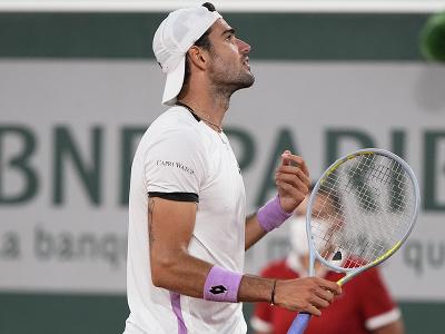 Taliansky tenista Matteo Berrettini