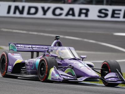 Francúzsky pretekár Romain Grosjean