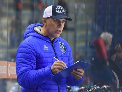 Na snímke tréner Popradu