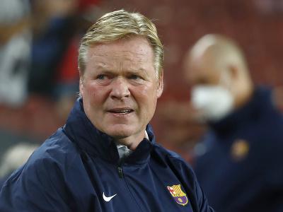 Holandský tréner Ronald Koeman