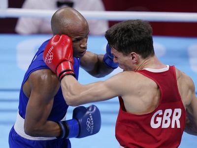Kubánsky boxer Roniel Iglesias