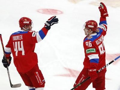Andrej Kuzmenko a Jegor Jakovlev