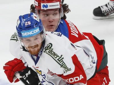 David Kaše a Dmitrij Voronkov