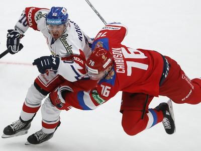 Lukáš Rousek a Andrej Chibisov