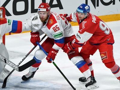 Brankár Alexander Samonov v akcii