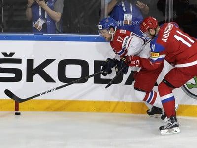 Sergej Andronov (vpravo) z
