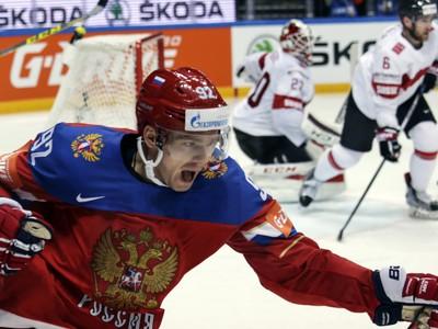 Evgeny Kuznetsov sa raduje