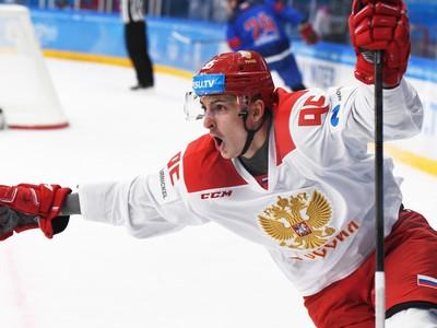 Ruský hokejista Jegor Morozov