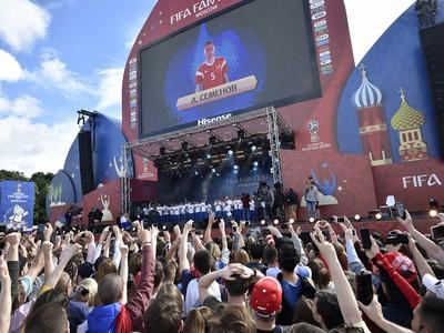 Ruskí fanúšikovia v hojnom