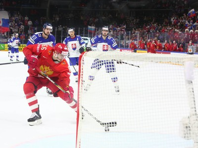 Ilja Michejev dáva gól