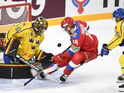 Momenkta zo zápasu Švédsko