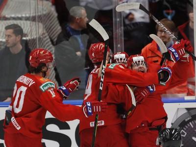 Ruská gólová radosť