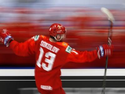Yegor Sokolov oslavuje strelen� g�l