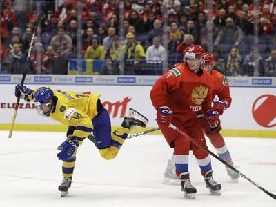 Pavel Dorofeyev a Lucas Raymond,