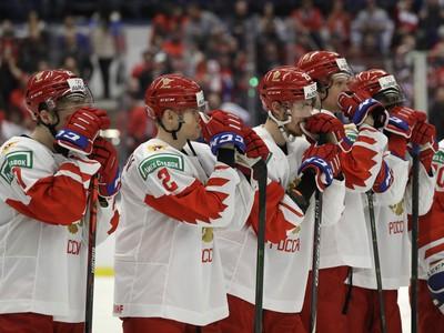 Sklamaní hokejisti Ruska