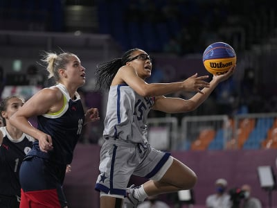 Američanky získali zlato v 3x3 basketbale
