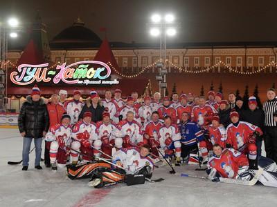 Putin odohral exhibíciu na Červenom námestí v Moskve