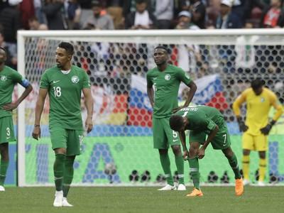 Hráči Saudskej Arábie