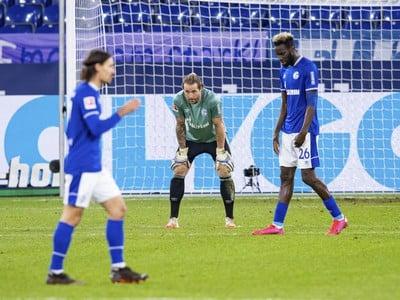 Sklamaní hráči Schalke 04