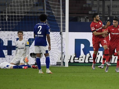 Hráč Leverkusenu Paulinho