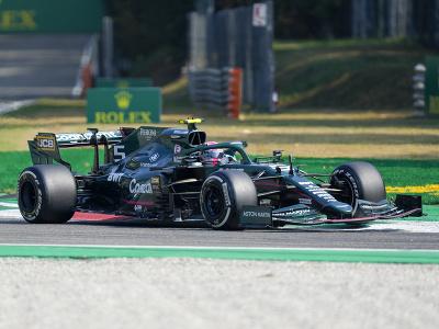Sebastian Vettel na Aston
