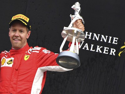 Víťaz VC Belgicka Sebastian Vettel