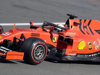 Sebastian Vettel vo svojom