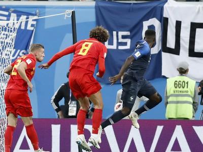 Samuel Umtiti presnou hlavičkou zariadil triumf Francúzska