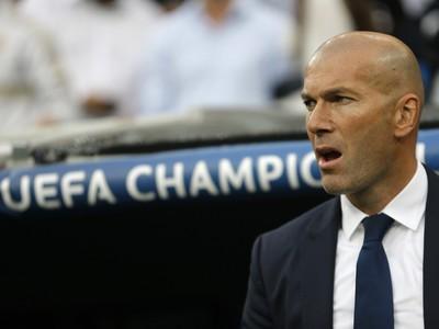 Tréner Realu Zinedine Zidane