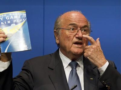 FIFA Prezident Sepp Blatter