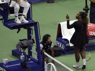Carlos Ramos v konflikte so Serenou Williamsovou