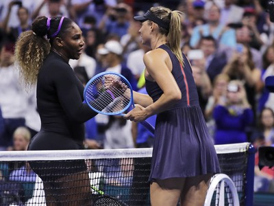 Serena Williamsová a Maria