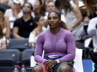 Na snímke americká tenistka Serena Williamsová v zápase 3. kola na grandslamovom turnaji US Open
