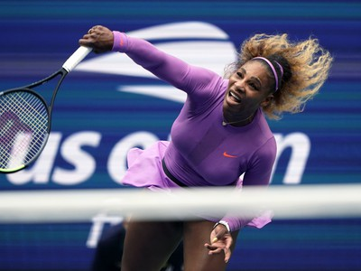 Serena Williamsová minulý rok