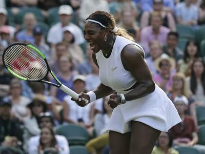 Sedemnásobná víťazka Wimbledonu Serena