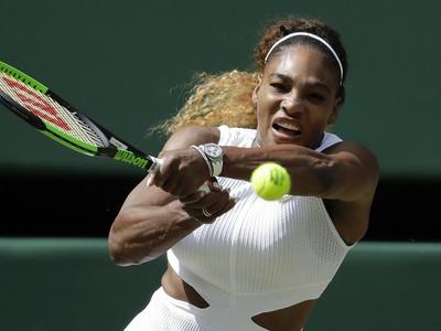 Serena Williamsová v semifinále