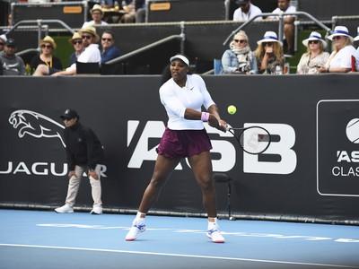 Serena Williamsová na turnaji