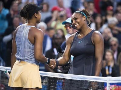 Naomi Osaková a Serena