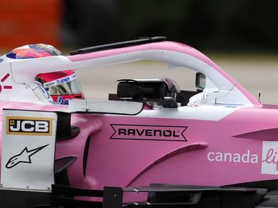Sergio Perez vo formule
