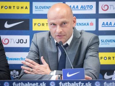 Novovymenovaný tréner slovenskej futbalovej